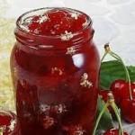 ricetta per marmellata di ciliegie
