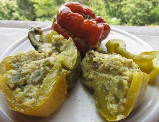 peperoni-ripieni-con-miglio-e-fagiolini